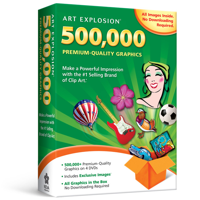 Art explosion 500000 clipart software nova development art explosion 500000 m4hsunfo