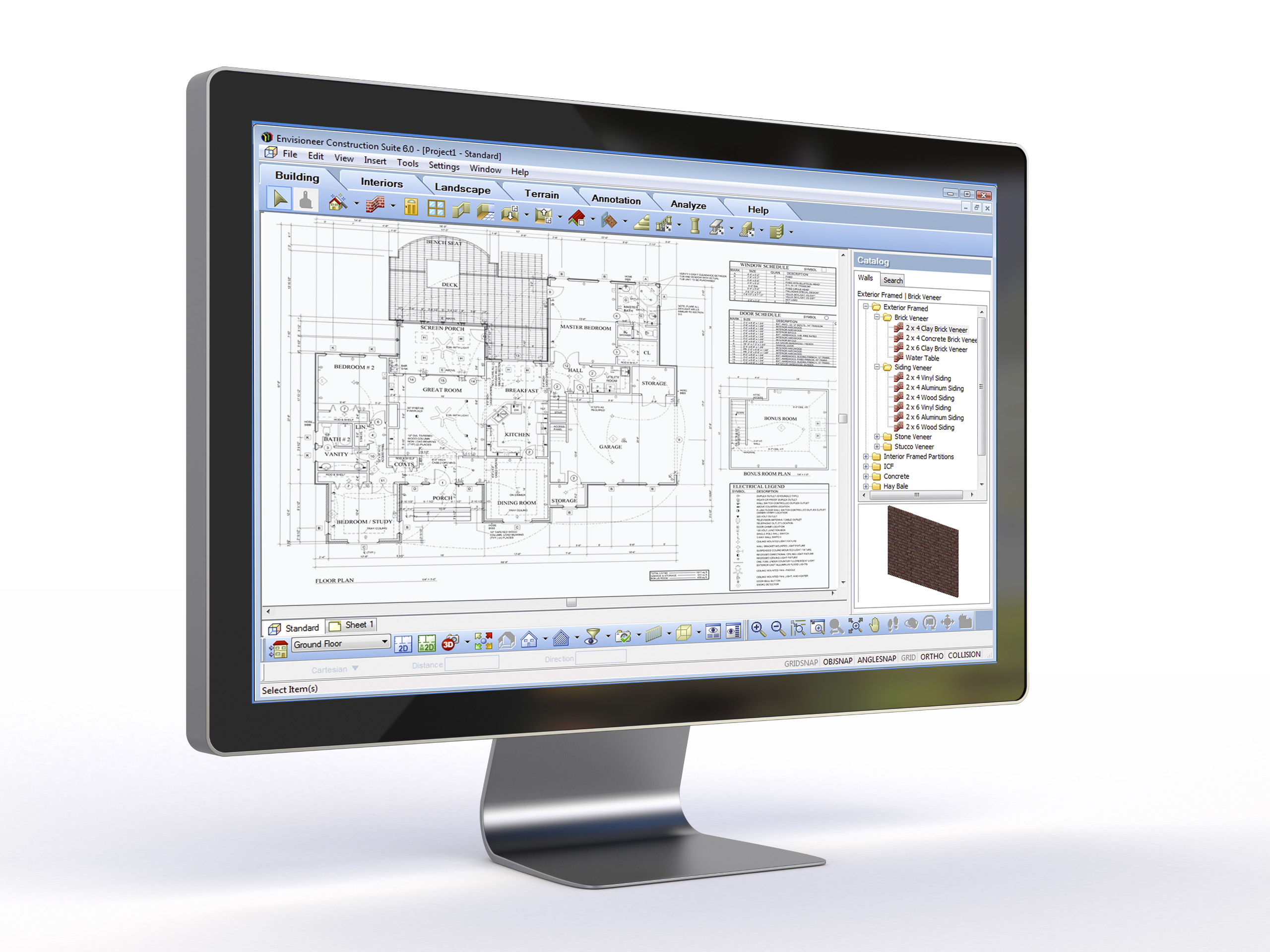 ProArchitect Architectural Design Software