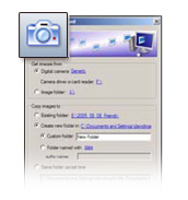 Digital Camera Image Import Wizard