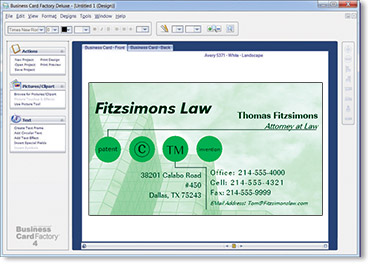 Business card factory deluxe software for business cards layout18 colourmoves