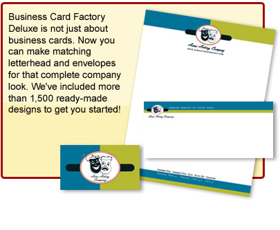Business card factory deluxe software for business cards layout37 m4hsunfo