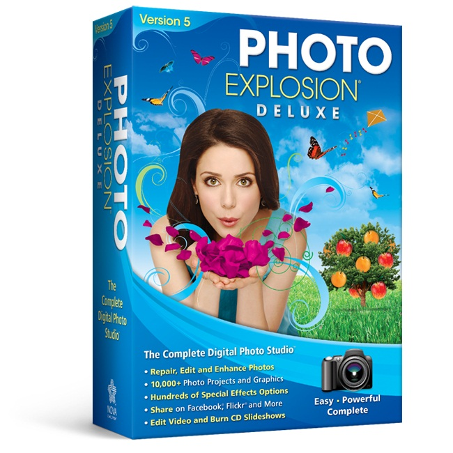 Photo Explosion<sup>&reg;</sup> 5.0 Deluxe