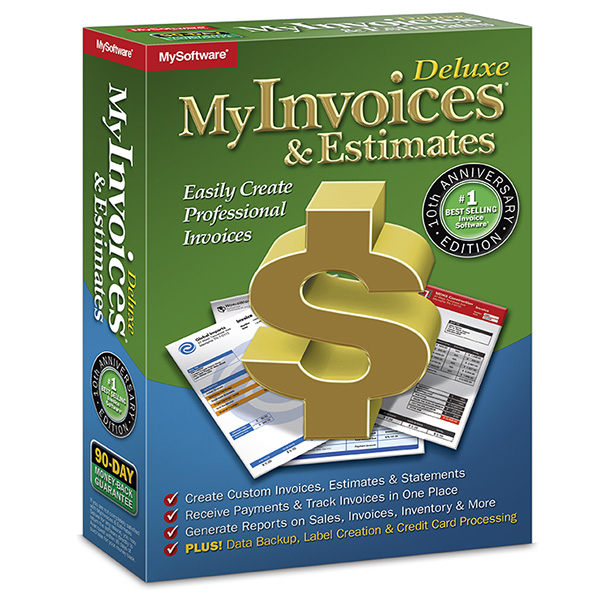 Myinvoices estimates deluxe 10 billing software avanquest myinvoices estimates deluxe 10 m4hsunfo