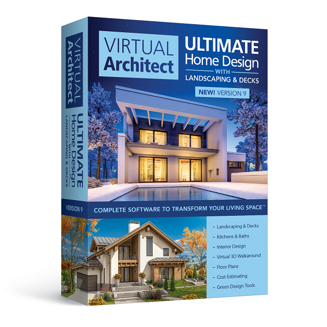 Virtual Architect Ultimate Home Design Software With Landscape Deck Nova Development