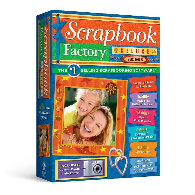 Scrapbook Factory Deluxe 5 0 Scrapbooking Software Nova Development