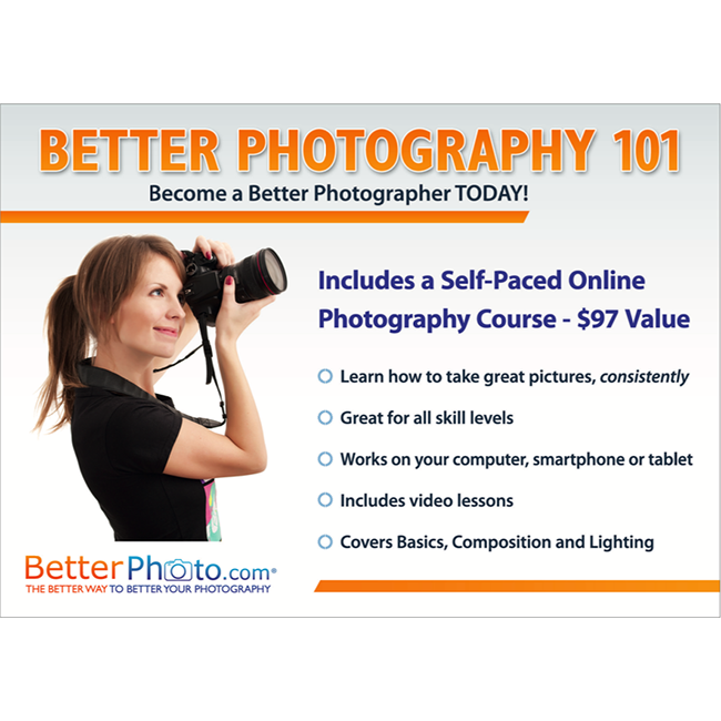 Better Photo 101 Online Course