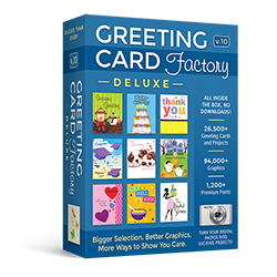 greeting card software