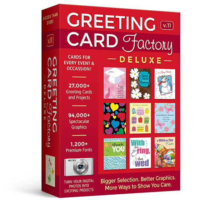 Greeting Card Factory Deluxe 11 Upgrade