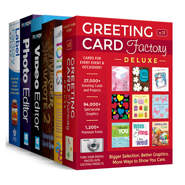 Greeting card factory deluxe 11 upgrade greeting card software greeting card factorysupsup deluxe 11 upgrade bundle m4hsunfo