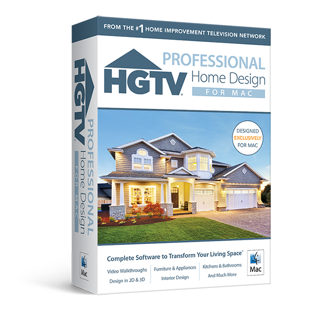 HGTV Home Design For Mac Professional