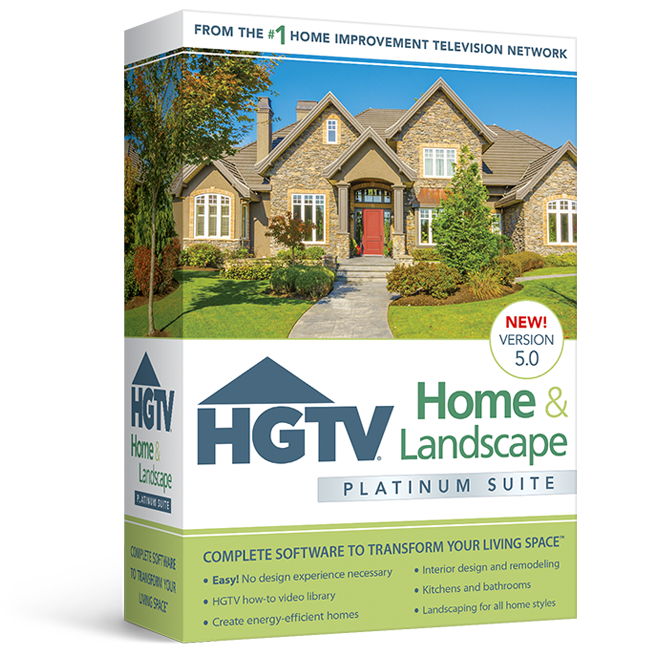 Hgtv Home Design Software: HGTV Home & Landscape Platinum Suite 5.0