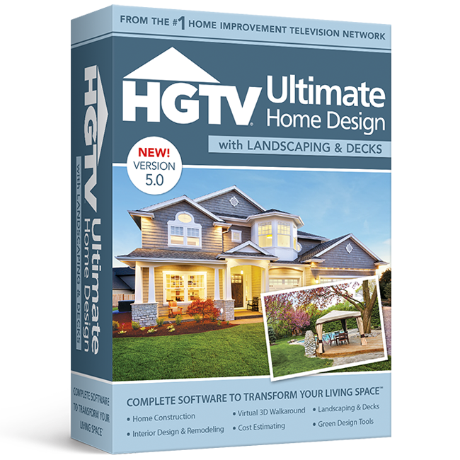 Hgtv ultimate home design with landscaping decks 5 0 Home improvement software free