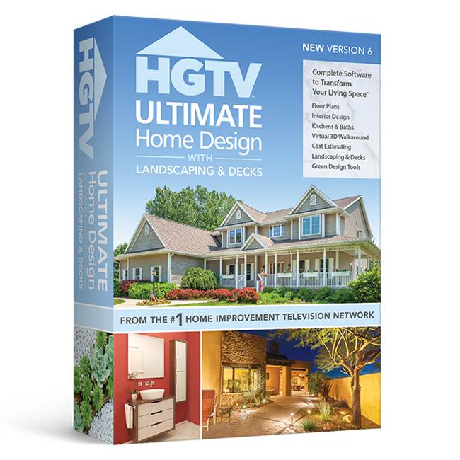 Hgtv Home Design Software: Home Design Software With Landscape & Deck By HGTV
