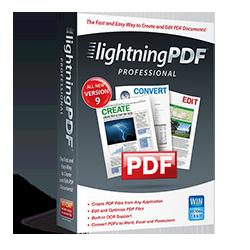 Lightning PDF Professional 9