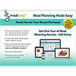 Meal Easy 1 Year Meal Planning