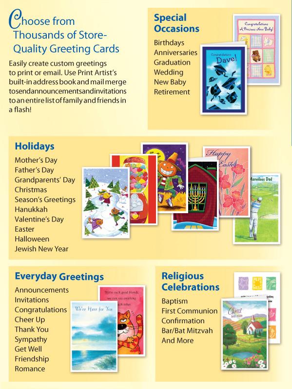 Print artist platinum 25 print software nova development greeting cards for every occasion m4hsunfo