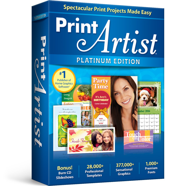 Print Artist 25 Platinum - Download