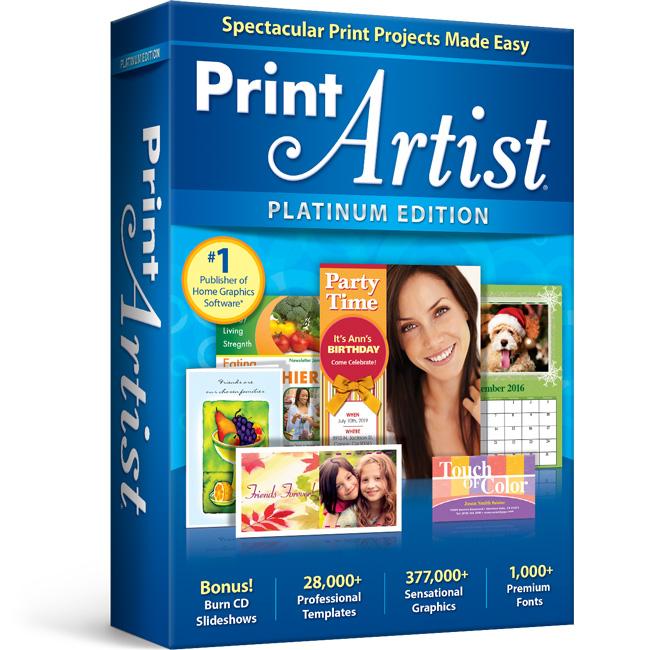 Print Artist Platinum 25 Print Software Nova Development