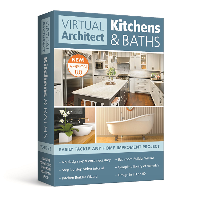 Virtual Architect Kitchens & Baths 8.0