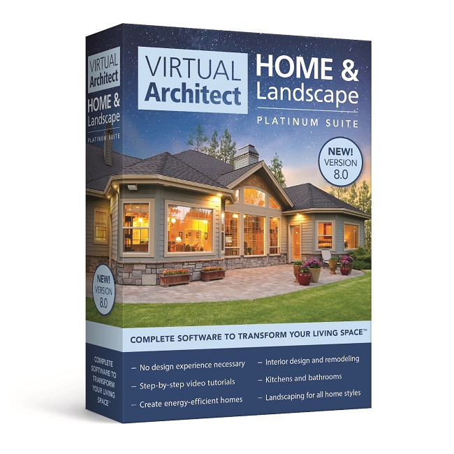 Virtual Architect Home U0026 Landscape Platinum Suite 8.0