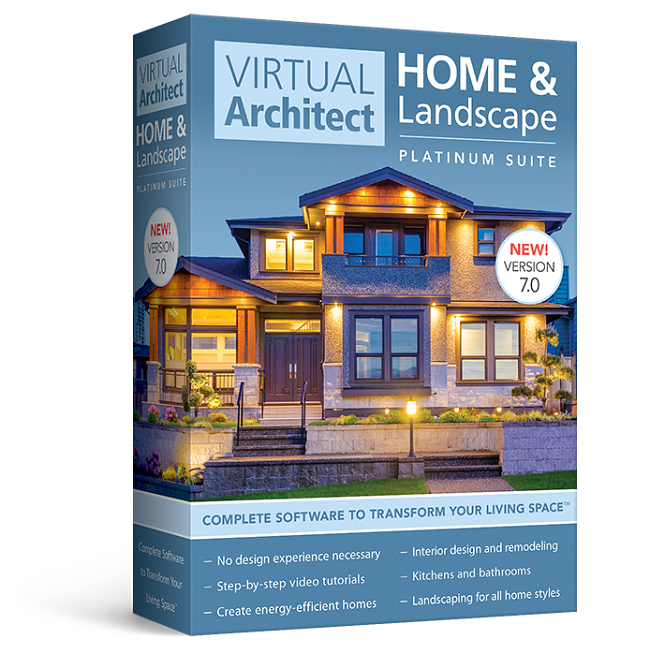 Vaplatinum 650x650 Best Home Landscape Design 3d Software By Virtual Architect On 3d Home Architect