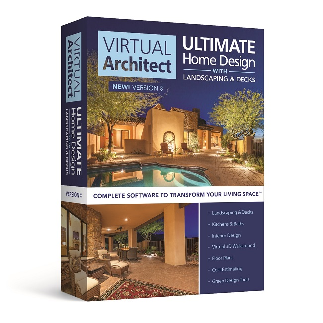3d Home Design Suite Deluxe 3 0: Virtual Architect Ultimate Home Design Software With