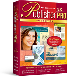 Art Explosion® Publisher Pro® Gold 3.0