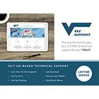 VTec Support - Lifetime Support for One Tablet